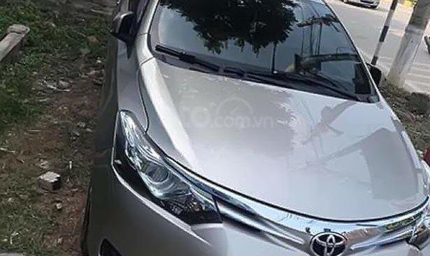 Bán Toyota Vios 1.5G sản xuất 2015, màu bạc số tự động