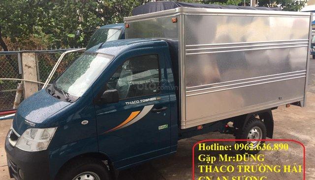 Cần bán xe Thaco TOWNER990 2019, màu xanh lam, giá chỉ 219 triệu
