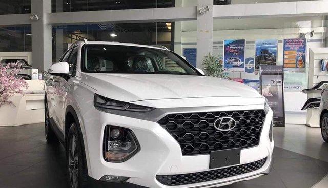 Hyundai Santa Fe Thanh Hóa rẻ nhất, xe đủ màu (máy xăng + dầu), trả góp, chỉ 300tr lấy xe - LH: 0947371548