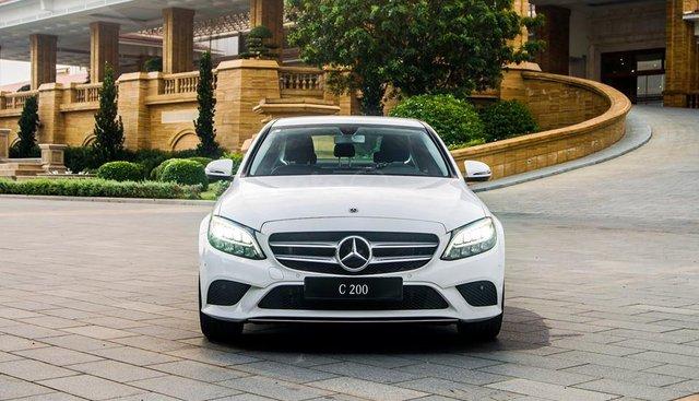 [Nha Trang] Mercedes C200 2019 ưu đãi thuế trước bạ 10%, giao ngay LH 0987313837