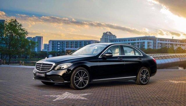 [Nha Trang] Mercedes C200 Exclusive 2019 ưu đãi thuế trước bạ 10%, đủ màu, giao ngay LH 0987313837