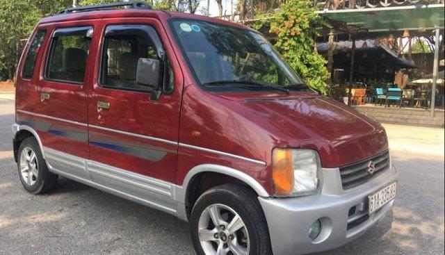 Bán Suzuki Wagon R+ 1.0 MT đời 2002, màu đỏ