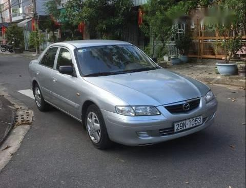 Bán xe Mazda 626 năm sản xuất 2001, màu bạc