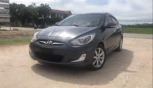 Bán xe Hyundai Accent 1.4AT năm 2011, màu xám, xe nhập số tự động