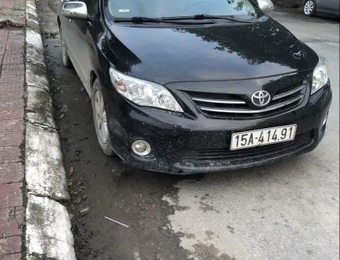Bán Toyota Corolla Altis sản xuất 2010, màu đen chính chủ, giá tốt