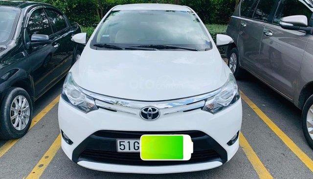 Bán ô tô Toyota Vios 1.5G AT đời 2017, màu trắng