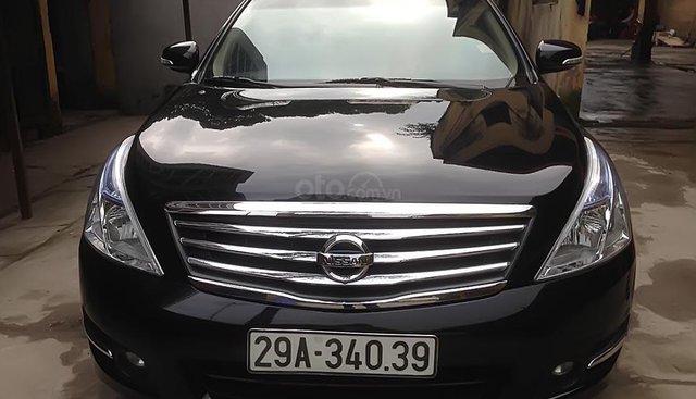 Bán Nissan Teana 2.0 AT năm 2011, màu đen, nhập khẩu số tự động, giá tốt