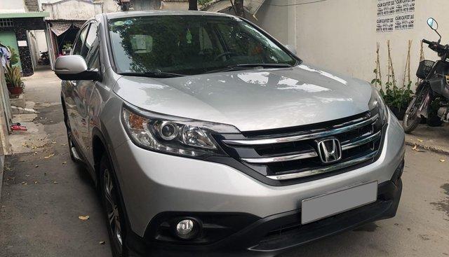 Bán Honda CRV 2015 tự động màu bạc xe bstp chính chủ