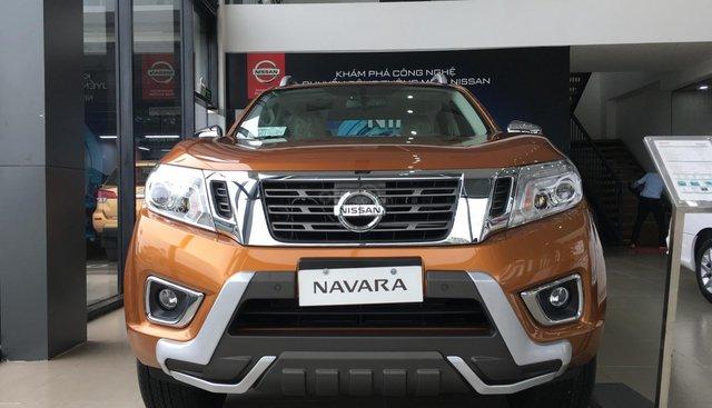 Bán Nissan Navara VL năm sản xuất 2019, màu cam, nhập khẩu giá cạnh tranh