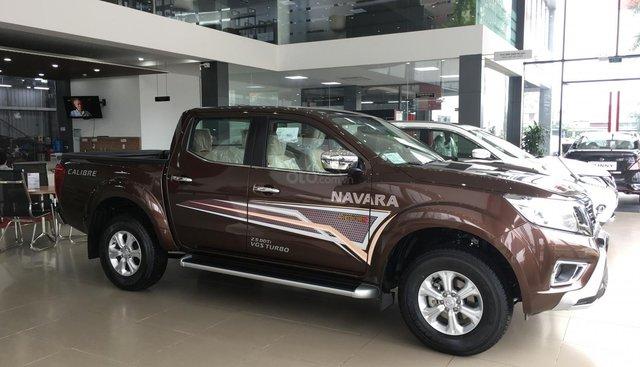 Bán xe Nissan Navara EL sản xuất 2019, màu nâu, xe nhập, giá tốt, nhiều khuyến mại