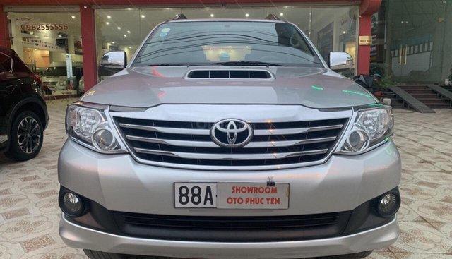 Bán Toyota Fortuner năm sản xuất 2013, màu bạc