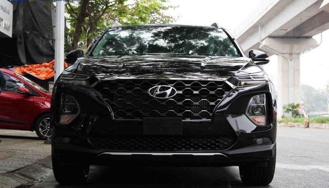 Hyundai SantaFe dầu đặc biệt đen 2019. LH: 0976543958