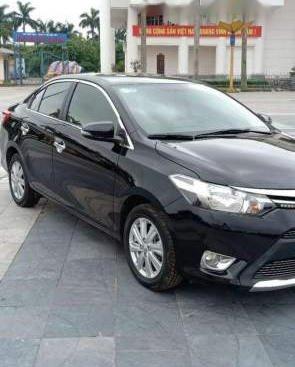 Bán xe Toyota Vios sản xuất năm 2017, màu đen, xe nhập