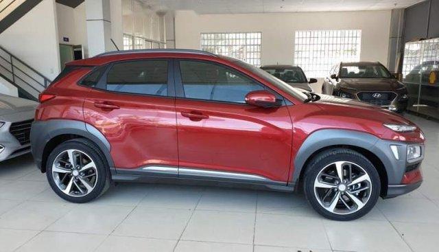 Bán Hyundai Kona 1.6 Turbo đời 2019, màu đỏ