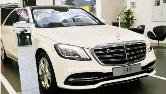 Cần bán xe Mercedes S450L 2019, màu trắng, nhập khẩu nguyên chiếc, mới 100%