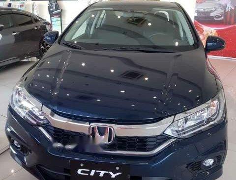 Bán Honda City năm sản xuất 2019, màu xanh lam, giá tốt