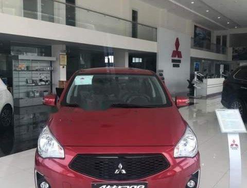 Bán Mitsubishi Attrage 2019, màu đỏ, xe nhập