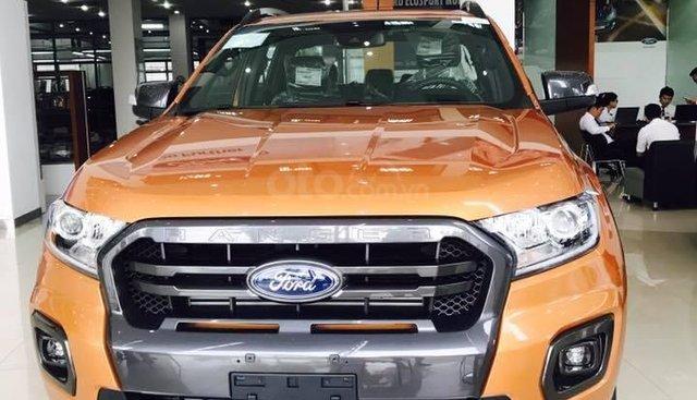 Ford Ranger Wildtrak Bi-Turbo,XLS, XLT, XL 2019 đủ màu, hỗ trợ vay 80%, tặng bộ phụ kiện giá trị , LH: 0938707505 Ms Như