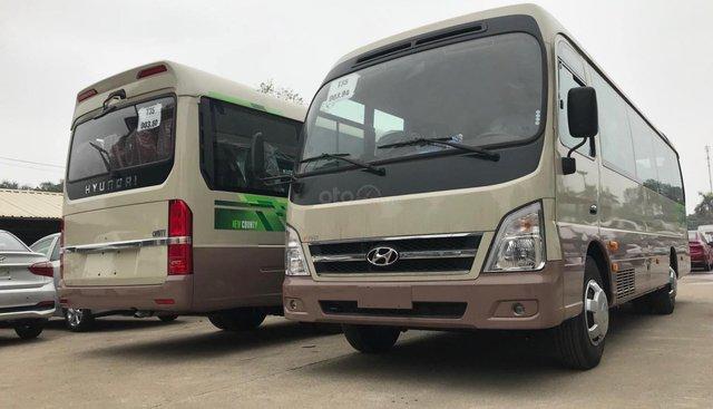 Hyundai County County 29 chỗ 2019, xe được nhập khẩu 3 cục từ Hyundai Hàn Quốc