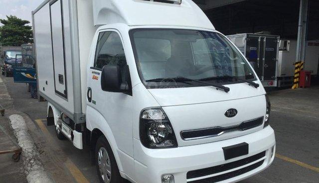 Xe tải Kia Thaco K250 thùng đông lạnh tải 1 tấn 9, xe mới 100% tại Tp. HCM, hỗ trợ trả góp. LH 0938808967