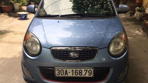 Bán ô tô Kia Morning SLX 2009, màu xanh lam