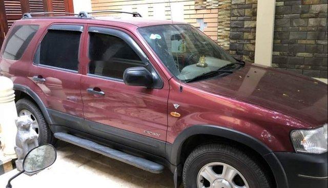 Bán ô tô Ford Escape sản xuất năm 2002, màu đỏ, nhập khẩu