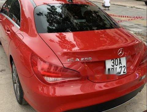 Cần bán lại xe Mercedes CLA 200 sản xuất năm 2014, màu đỏ, nhập khẩu