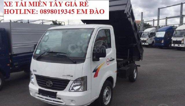 Bán xe ben Tata 990kg, giá tốt nhất miền Tây