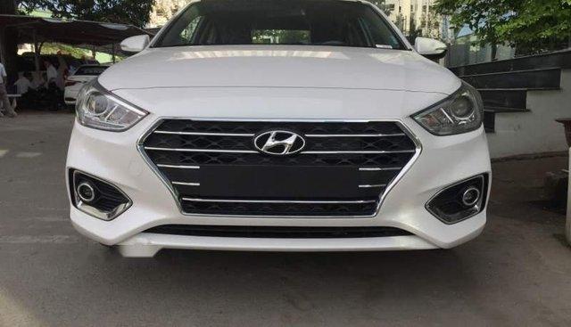 Bán xe Hyundai Accent năm 2019, màu trắng, giá tốt
