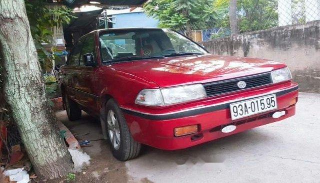 Bán Toyota Corolla đời 1991, màu đỏ, xe nhập