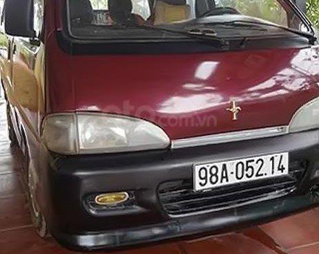 Bán Daihatsu Citivan 1.6 MT năm sản xuất 2003, màu đỏ