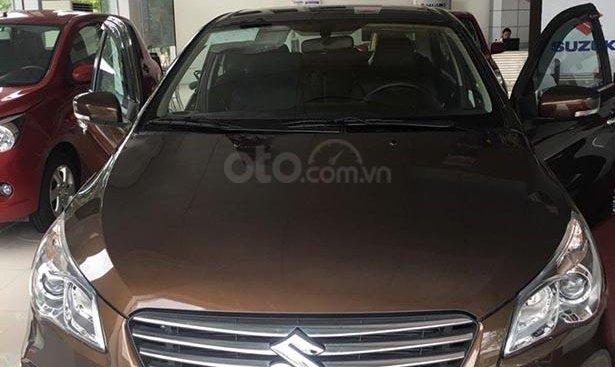 Cần bán xe Suzuki Ciaz 1.4 AT sản xuất 2019, màu nâu, nhập khẩu nguyên chiếc, giá chỉ 499 triệu