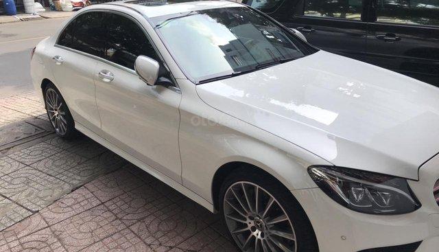 Mercedes C300 AMG 2018 số tự động 9 cấp