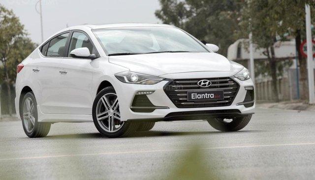 Bán Hyundai Elantra Sport 1.6 Turbo 2019, sẵn xe đủ màu giao ngay, tặng phụ kiện hấp dẫn. LH Mr Quang: 0907.239.198