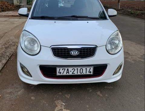 Bán Kia Morning năm sản xuất 2012, màu trắng, xe cực đẹp