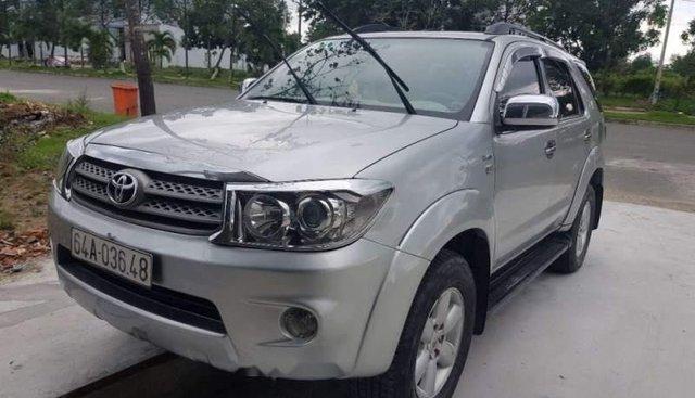 Bán xe Toyota Fortuner năm sản xuất 2009, màu bạc