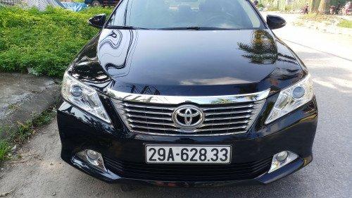 Bán Toyota Camry 2.5G AT năm 2012, màu đen