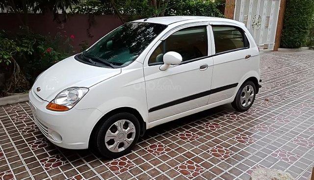 Bán ô tô Chevrolet Spark Lite Van 0.8 MT năm 2013, màu trắng, nguyên bản như từ mới