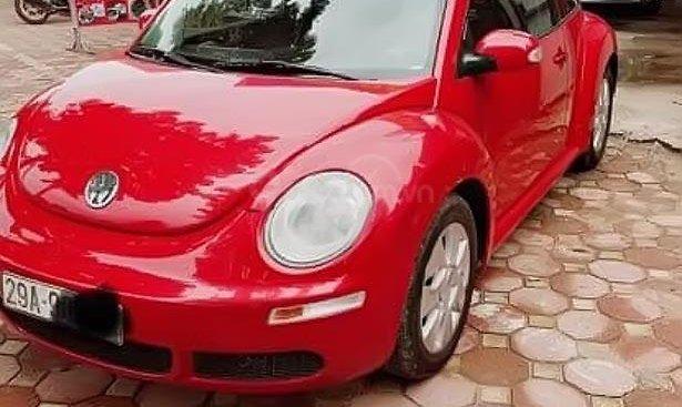 Cần bán lại xe Volkswagen Beetle năm sản xuất 2007, màu đỏ, nhập khẩu nguyên chiếc
