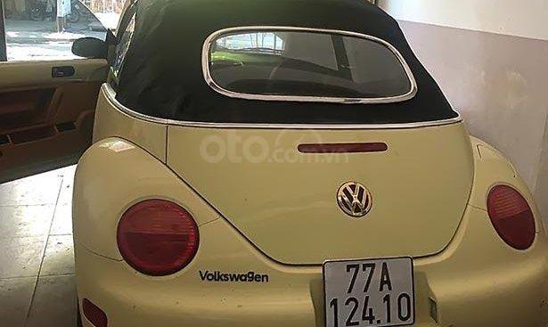 Cần bán lại xe Volkswagen New Beetle 2003, màu vàng, xe nhập, giá chỉ 450 triệu
