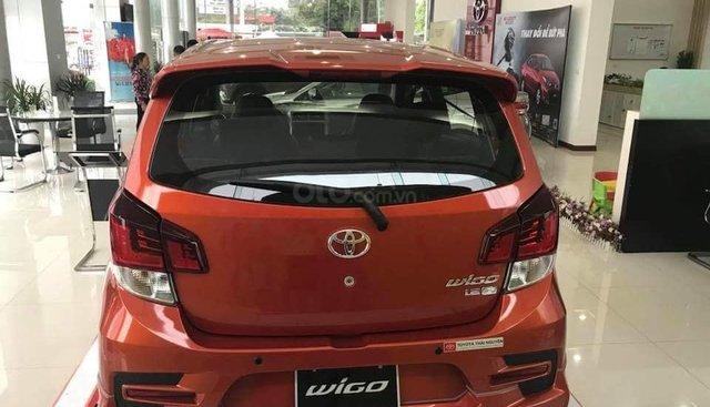 Bán Toyota Wigo 1.2G AT 2019, giá cạnh tranh 45tr + 10tr phụ kiện