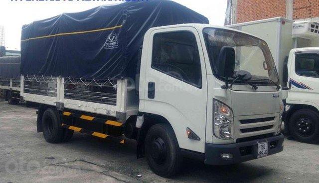 Xe tải Đô Thành IZ65 2T2 - 3T5 thùng bạt dài 4m3