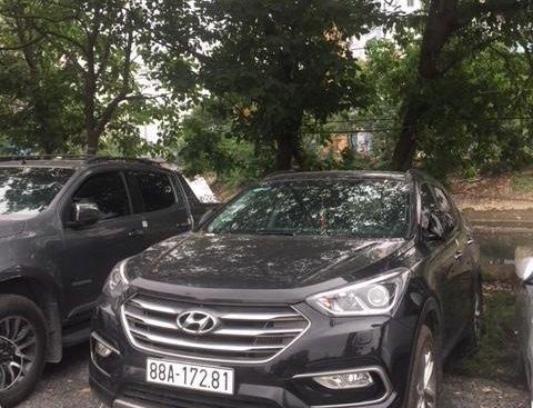 Bán Hyundai Santa Fe - máy dầu - bản thiếu - năm sản xuất 2017, giá chỉ 883 triệu