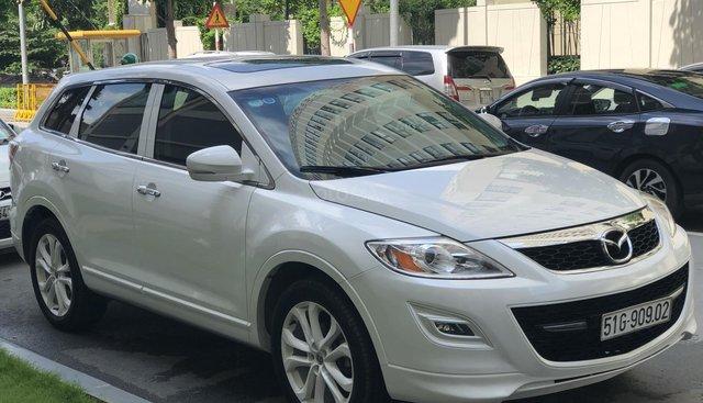 Cần ban Mazda CX9 nhập khẩu màu trắng, đời 2013 giá 980 triệu