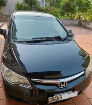 Bán lại xe Honda Civic đời 2007 số sàn, màu xanh dưa