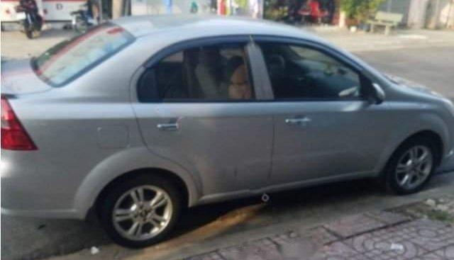 Bán xe Chevrolet Aveo 1.5 LTZ sản xuất năm 2015, màu bạc số tự động
