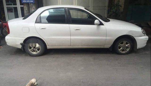 Bán Daewoo Lanos sản xuất 2004, màu trắng, xe nhập