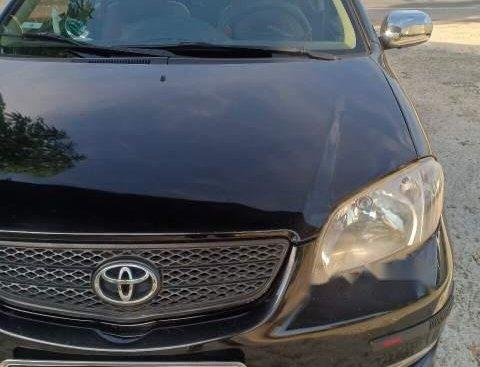 Bán gấp Toyota Vios 2005, màu đen, số sàn