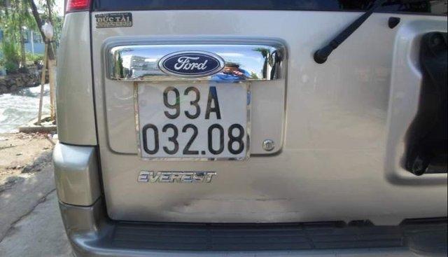 Bán gấp Ford Everest đời 2007, màu hồng, nhập khẩu