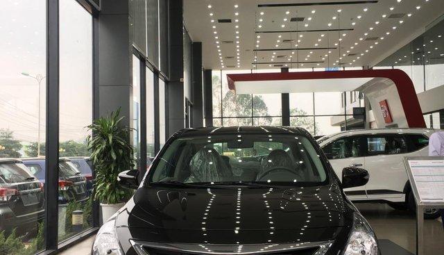 Bán ô tô Nissan Sunny XV 2019, màu đen giá cạnh tranh nhiều khuyến mại